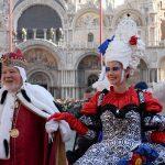 Venezia,{ today}, carnevale 2018 - volo dell'angelo Elisa Costantini(c)Vision/Vela